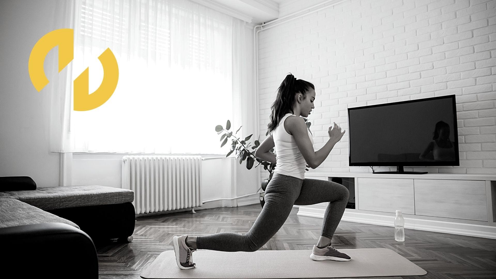 Lesiones por ejercicio en casa